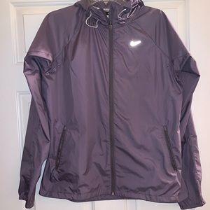 Purple running windbreaker Athletic jacket l Nike